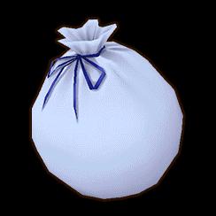 白サンタの袋