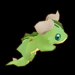 たれドラゴン【緑】