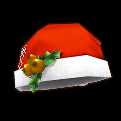 赤サンタ帽 (女)