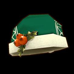 緑サンタ帽 (女)