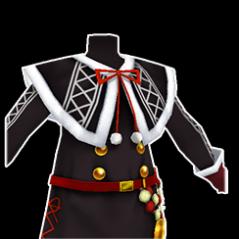 黒サンタ服 (男)