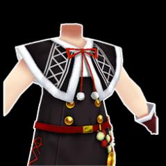 黒サンタ服 (女)