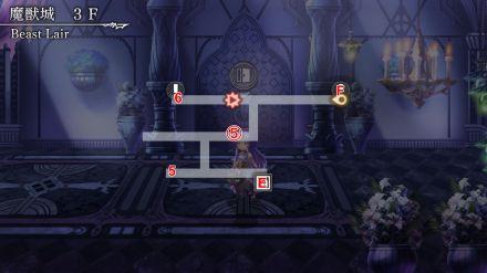 魔獣城 3F