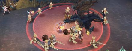 ドラゴンの秘宝 ヘイトを集めて中央におびき寄せる