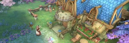 ファームの小屋
