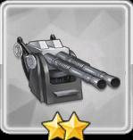 QF 二連装ポンポン砲T2