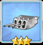 203mm三連装砲改造型T2