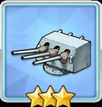 102mm三連装砲(副砲)T2