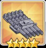 533mm五連装磁気魚雷T2