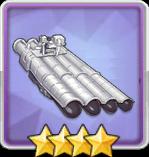 533mm四連装魚雷T3