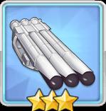 533mm三連装魚雷T3