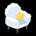 雲さんソファー