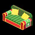クリスマスソファ