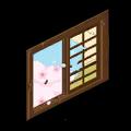 割れた窓(昼)