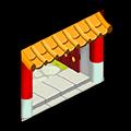 東煌屋敷の門