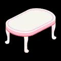 ピンクテーブル