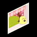 茶会の小窓