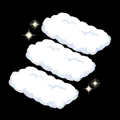 雲さんハシゴ