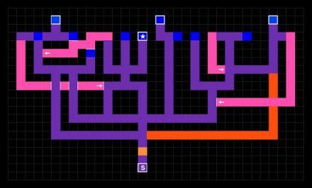 大迷宮ユグドラシル遭遇編地図1