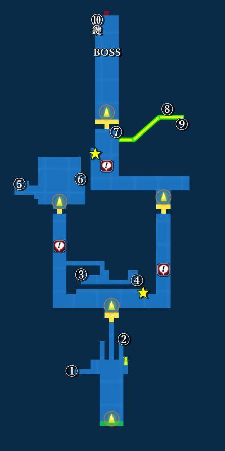 魔導兵器開発施設マップ