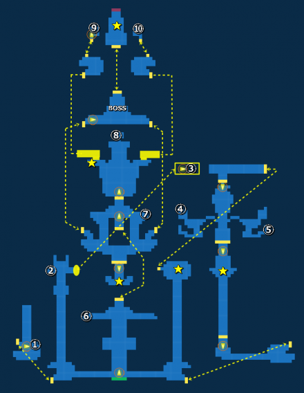 ゾルダード場内探索MAP