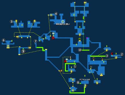 コルツの町MAP