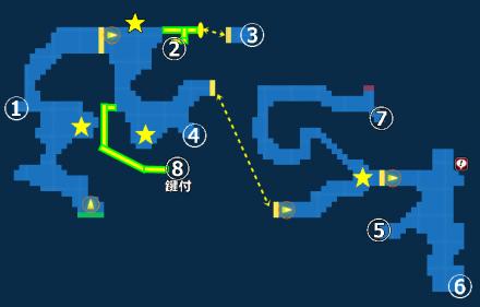 幻影の雲海MAP
