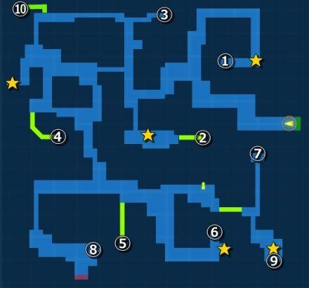 スクラップ場・探索MAP
