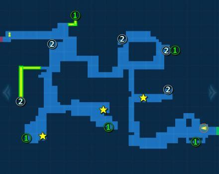 幻のチョコチョコボ探索MAP