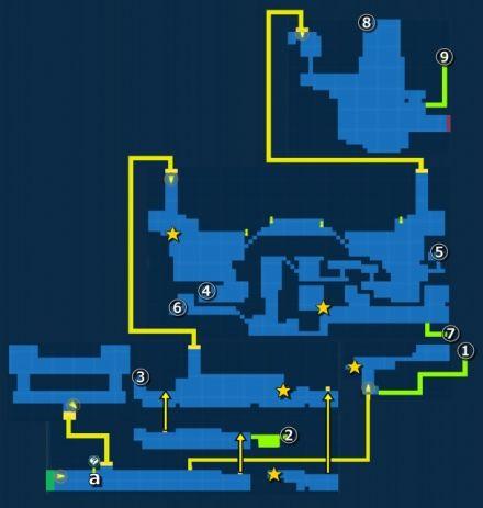 モブリズ飛空艇工場・探索MAP