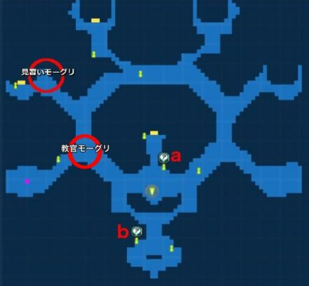 特別サブクエスト異界MAP