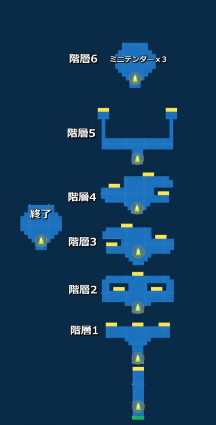 夢幻の迷宮 探索MAP