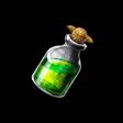 緑色の液体