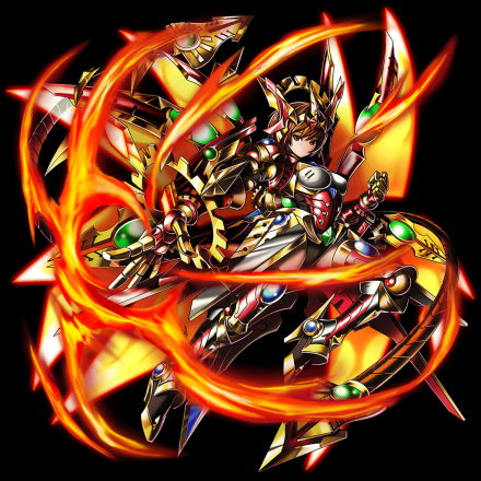焔撃の神装姫ソレイユ
