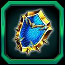 蒼器『水龍の鱗盾』