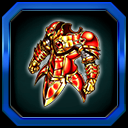 緋器『焔騎の古鎧』