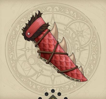 赤喰大蛇の鱗鞘