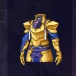 山吹色の騎士甲冑