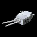 アメリカ二連装16インチ火砲(改)