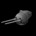 ドイツ203mm連装砲