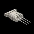 日本15.5cm三連装主砲