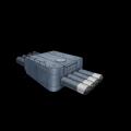 九二式61cm魚雷四連装発射管