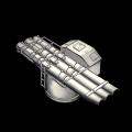 三連装550mm酸素魚雷
