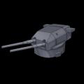 ドイツ406mm連装砲