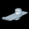 五連装533mm魚雷(MK17)