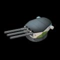 イギリス3連装16インチ火砲(改)