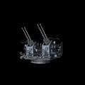 ボフォース40mm対空機関砲(四連装)