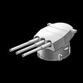 イギリスMK.Ⅲ型三連装16インチ主砲