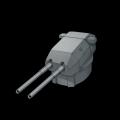 ドイツ380mm連装砲