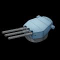イギリス16inch三連装砲